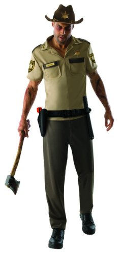 The Walking Dead TV Show Adult Rick Grimes Costume