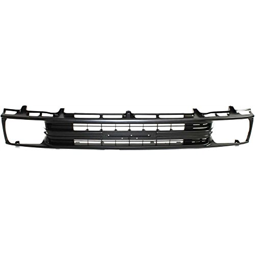 Evan-Fischer EVA17772010060 Grille for Toyota Pickup 89-91 Painted-Black 1-Piece Type 2WD