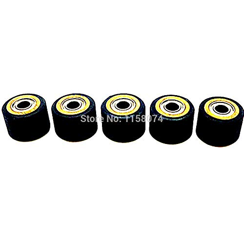ILLIO Pack Of 5 Copper Core Pinch Roller Wheel Bearing 4x10x14mm Pinch Rollers Printer Parts For Roland Cutting Plotter Vinly Cutter NEW by ILLIO (Image #5)
