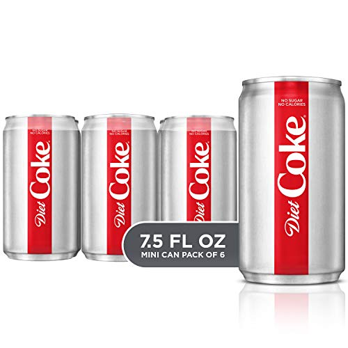 (Diet Coke, 7.5 fl oz, 6 Pack)