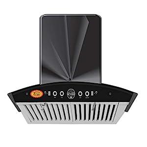 SURYA TD-1400 Auto clean Kitchen Chimney With Hand Wave Sensor, Auto Clean, Wave Sensor, Baffle Filter & Touch Panel In…