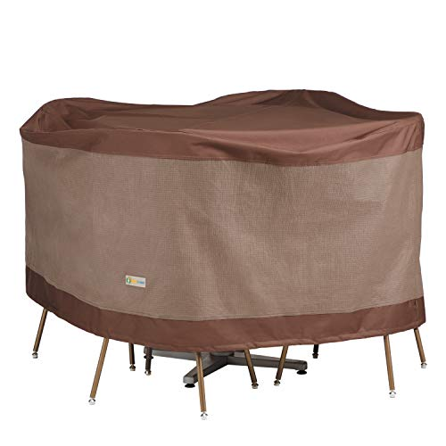 - Duck Covers Ultimate Round Table & Chair Set Cover 56