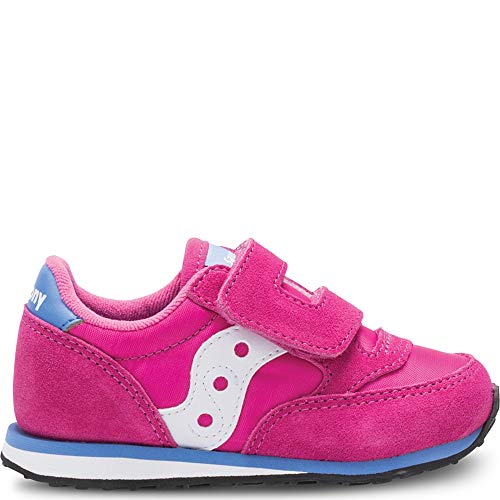 Saucony Girls' Baby Jazz HL Sneaker, Magenta, 6.5 Medium US Toddler -