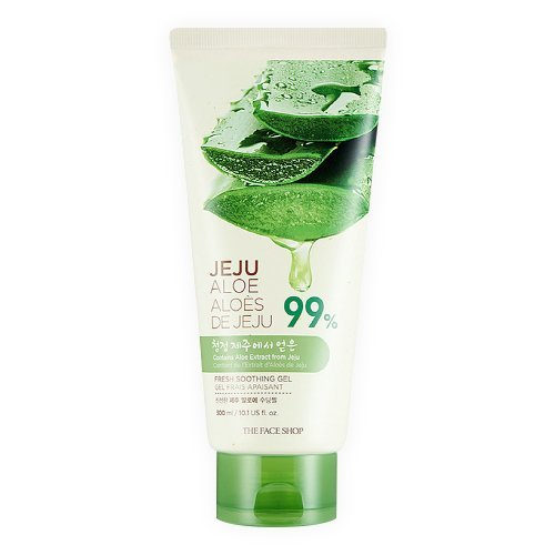 [The Face Shop] Fresh Jeju Aloe Soothing Gel Tube