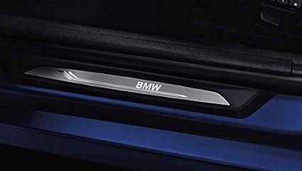 Listón de umbral de puerta con LED original de BMW: Amazon.es: Coche y moto