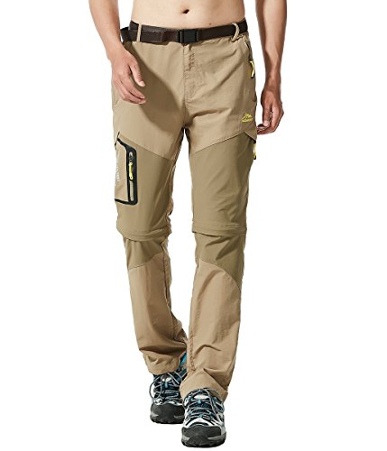 MAGCOMSEN Wild Cargo Pants Outdoor Belted Trousers Hot Pants with Pocket from MAGCOMSEN