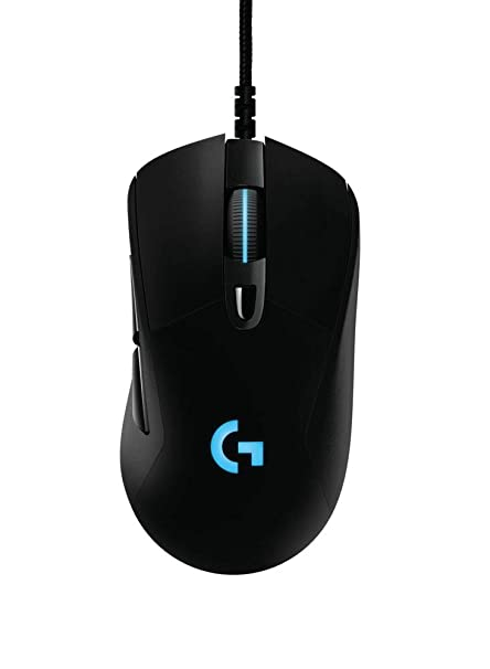 8477b215cae Logitech G403 Prodigy Wired Gaming Mouse with High Performance Gaming Sensor  (910-004796)
