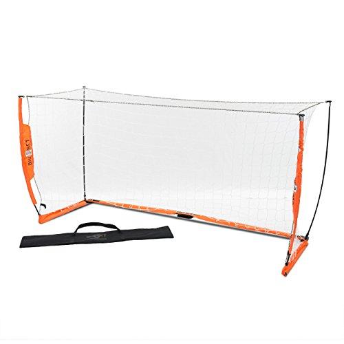 - Bownet Portable 4'H x 8'W Soccer Goal