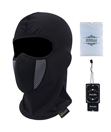 Zoizlla Balaclava Ski Mask, Motorcycle Face Mask For Men/Women, Thin Breathable Face Mask, Tactical Mask Snowboard headgear - - Men Thin Face