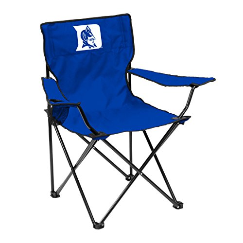 Fan Blue Duke Devils (Logo Brands NCAA Duke Blue Devils Adult Quad Chair, Royal)