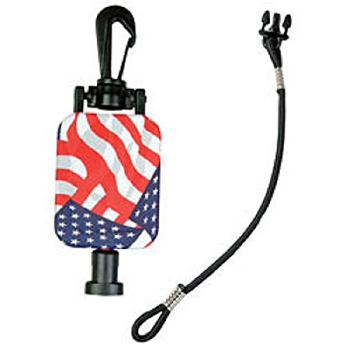 [해외]Gear Keeper RT2-4212 23 FLAG 신축 형 홀더 CB 라디오 마이크 걸이/Gear Keeper RT2-4212 23  FLAG Retractable Holder CB Radio Microphone H