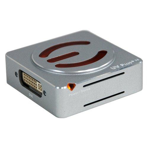 EVGA 100-U2-UV12-A1 UV Plus USB VGA Adapter for Multiple Dis