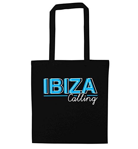 Bag Creative Creative Black Ibiza Ibiza calling Tote Bag Flox Flox calling Tote ftxq8a