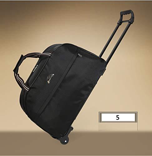 Travel Bag Handbag Pattern : 5, Size : Large Simple Huijunwenti Trolley Bag Soft Suitcase Travel Organizer The Latest Style