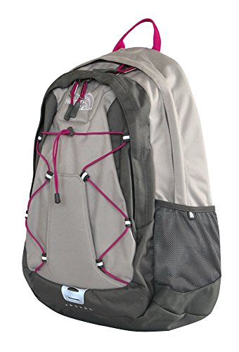 The North Face womens Jester BP laptop Backpack BOOK BAG PACHE GREY
