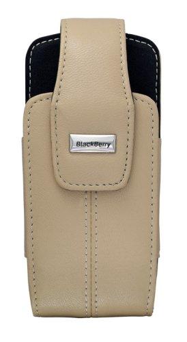 (BlackBerry Lambskin Leather Swivel Holster for BlackBerry 8100, 8110, 8120, 8130 (Ecru Tan))