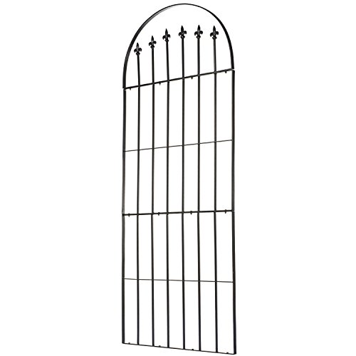 Grace Wrought Iron - H Potter Trellis Garden Wrought Iron Weather Resistant Deck Patio Wall Art Model GAR526