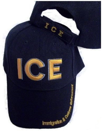 Border Patrol Baseball Hat - ICE Immigration & Customs Enforcement Embroidered Hat Baseball Style Ball Cap