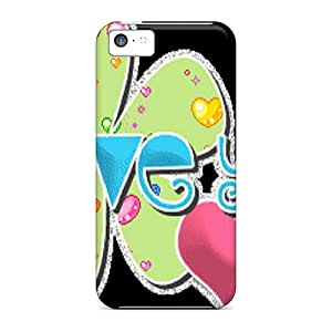 Fashion Tpu Case For Iphone 5c- Love You Defender Case Cover
