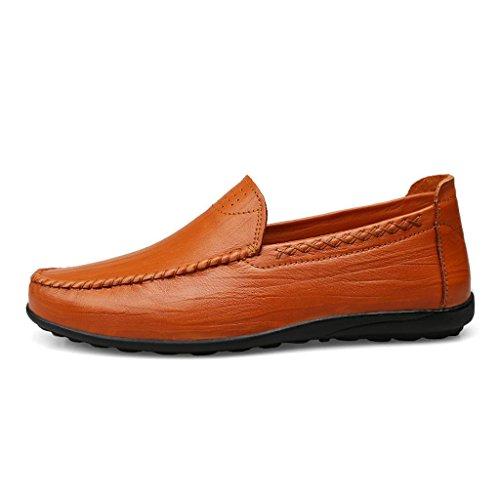 Scarpe M d'Affari amp;M Uomini di pap Scarpe Scarpe Pelle da Casual del Lavoro degli Scarpe Pattini wq4fgqX