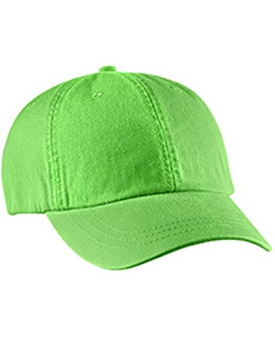 Optimum Pigment-Dyed Cap - Green Twill Mesh Cap