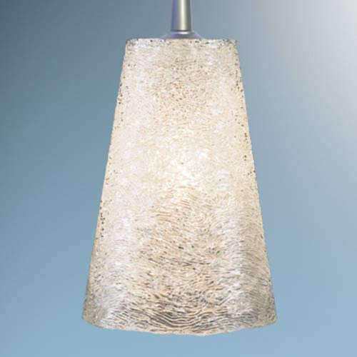 Bling II 1 Light Monopoint Pendant with Canopy Finish: Matte Chrome, Canopy/Bulb type: 2