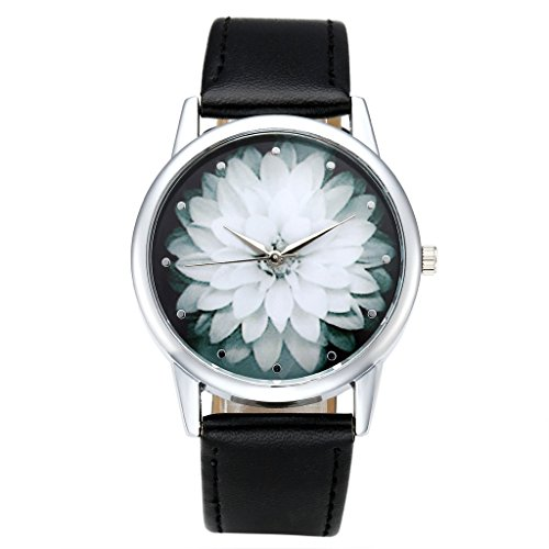Top Plaza Elegant Fashion Watch Black