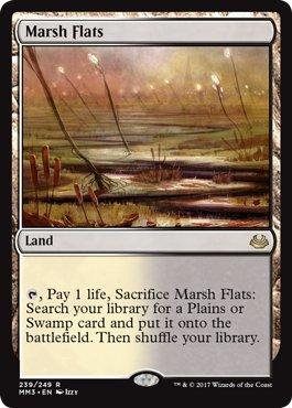 Marsh Flats - Foil - Modern Masters (Old Master Flat)