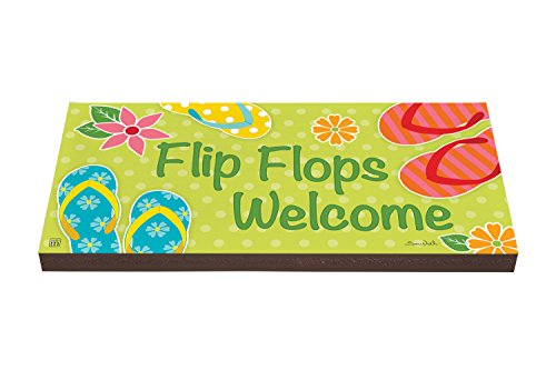 Studio M PV1026DS Flip Flops Welcome Garden Art Paver