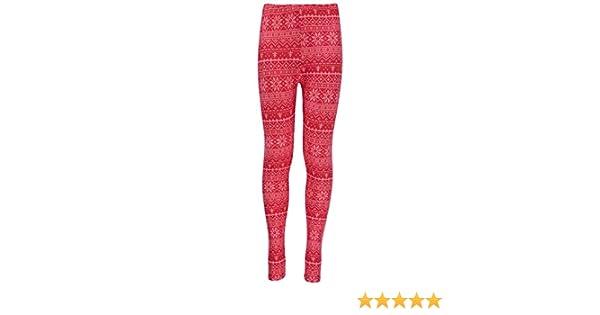 3cb718015da1b Amazon.com: Derek Heart Girl Big Girls' Christmas Santa Holiday Spandex  Soft Leggings: Clothing