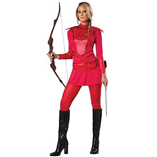 Warrior Huntress Adult Costume Red - X-Large for $<!--$25.89-->