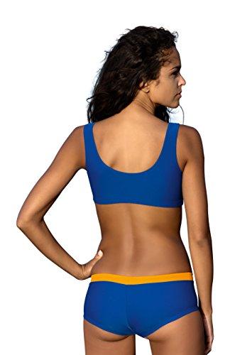 Pezzi Da Ideale V4 Piscina Due Donna Sportivo Costume Per Bagno La Stile 04tqw