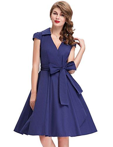 V-Neck-50s-Style-Dresses-for-Women-CL6087