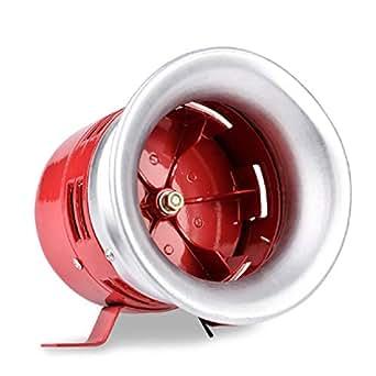 Baoshishan - Cuerno de sirena de aire controlado por motor para la industria, lucha contra incendios, alarma de seguridad de emergencia, 1