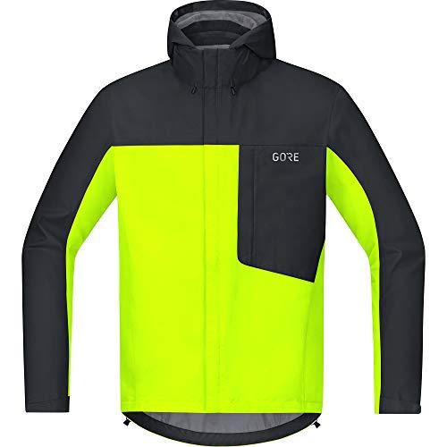 GORE Wear C3 Herren Kapuzenjacke GORE-TEX, XXL, Neon-Gelb