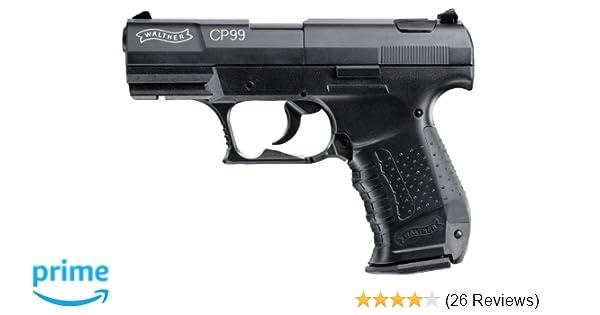 amazon com walther cp99 177 caliber pellet air gun airsoft guns rh amazon com P99 CO2 Pistol Walther P5 Pistol