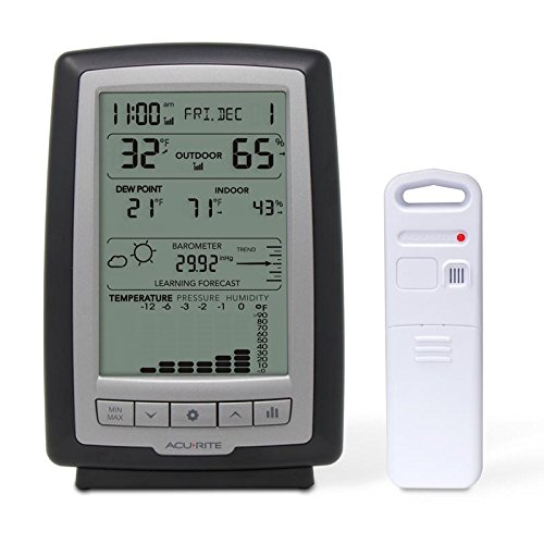 AcuRite 01181M Indoor and Outdoor Weather Station with Forec