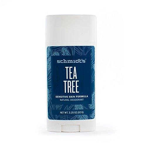 Schmidt's Natural Deodorant for Sensitive Skin - Tea Tree, 3.25 ounces. Stick for Women and Men by Schmidt's Deodorant (Image #3)'