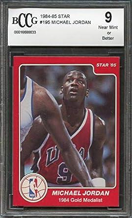 Amazoncom 1984 85 Star 195 Michael Jordan Chicago Bulls
