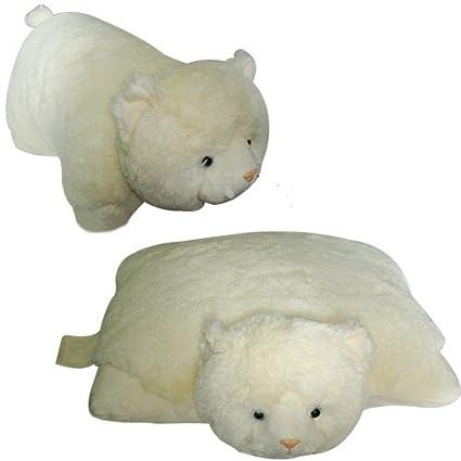 Amazon.com: White Cat Pet Cojín Almohada animal, marca ...