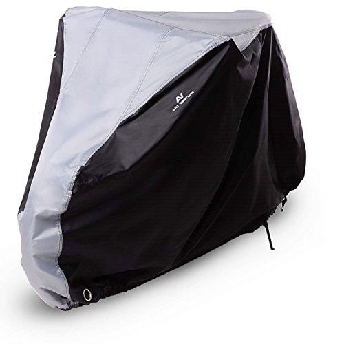 Art-Venture Bike Cover Waterproof Outdoor Bicycle Cover Heavy Duty 210T Ripstop Fabric Anti-UV Protection to Extra Protect your Bike on All Weather (Bike Cover)