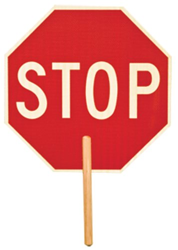 ML Kishigo 5951 Non Reflective Double Sided Stop Sign with 9