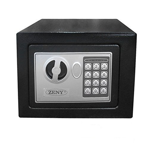 Zeny Digital Electronic Security Safe Box Wall Cabinet for Jewelry Gun Cash Valuable