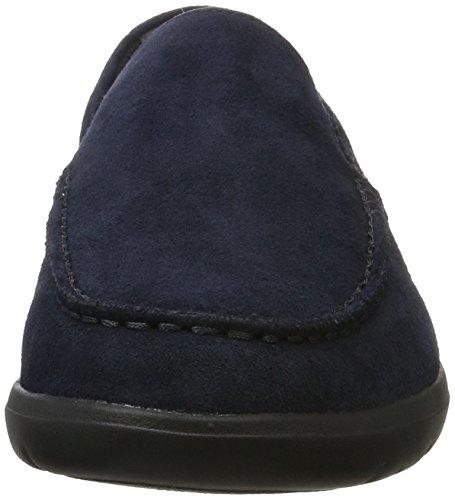 Geox U Leitan C, Mocasines Para Hombre Azul (Navy)