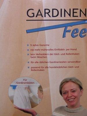 Amazon.de: Gardinenfee für Gardinenleisten