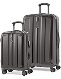 "Inflight Lite Two-Piece Hardside Spinner Set (20""/29"") (Exclusive to Amazon), Gunmetal Grey"