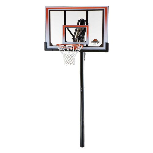 Lifetime 71799 Height Adjustable In Ground Basketball System, 50 Inch...