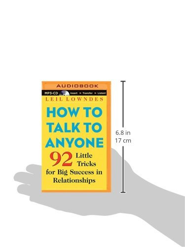 How to Talk to Anyone: 92 Little Tricks for Big Success in Relationships by Brilliance Audio (Image #2)