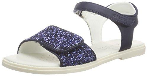 Geox J Sandal Karly Girl - Sandalias Niñas, Azul - Bleu (C4002), 29