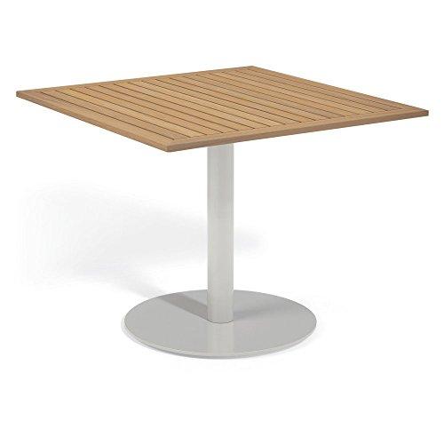 Oxford Garden TV36TAN Travira Square Bistro Table, 36-Inch,
